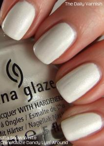 Ulta Snow White China Glaze Dany Lyin' Around