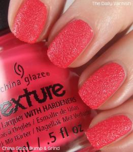 China Glaze Bump & Grind