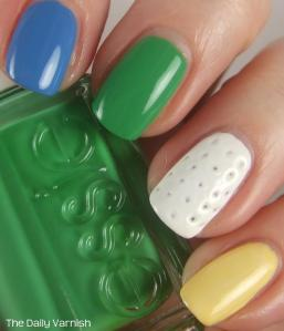 Nail Art Golf Ball Nails The Daily Varnish