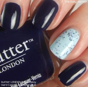 Hard Candy Jelly Bean Blue and butter LONDON Royal Navy