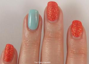 JulieG Sugar Rush and Sally Hansen Barracuda 2