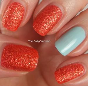 JulieG Sugar Rush and Sally Hansen Barracuda 3