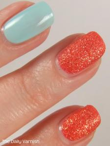 JulieG Sugar Rush and Sally Hansen Barracuda MACRO