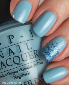 OPI What's With The Cattitude and Shimmer Polish Maria 2
