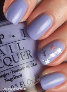 OPI You're Such a Budapest and Revlon Celestial FX
