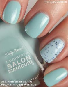 Sally Hansen Barracuda Hard Candy Jelly Bean Blue