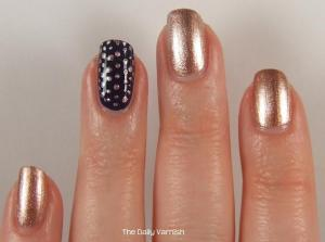 Small Metallic Polka Dots 2