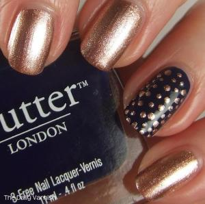 Small Metallic Polka Dots 4