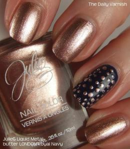 Small Metallic Polka Dots