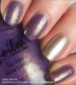 Spoiled by wet n wild Are Mermaids Real and Julep Sienna 2