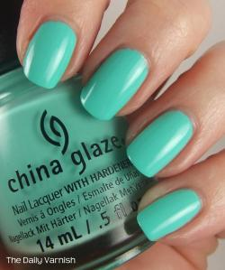China Glaze Too Yacht To Handle 4
