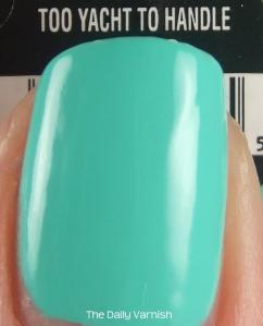 China Glaze Too Yacht To Handle MACRO 2