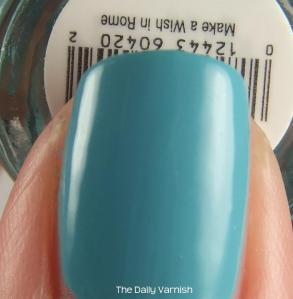 Yes, the label is upside down. Swatch fail!