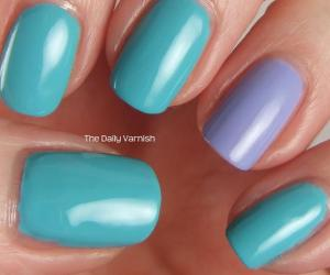Essie In The Cab-ana and OPI You're Such a Budapest 2