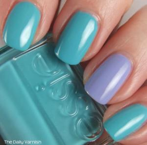 Essie In The Cab-ana and OPI You're Such a Budapest