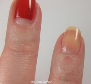 Half Moon Manicure How To