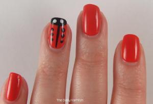 Lady Bug Nail Art 2