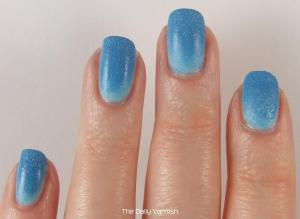 Matte Textured Gradient Nail Art 2