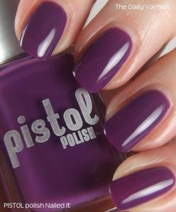 PISTOL polish Nailed It