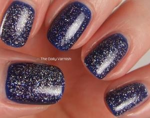 PISTOL polish Run The World and Revlon Royal 2