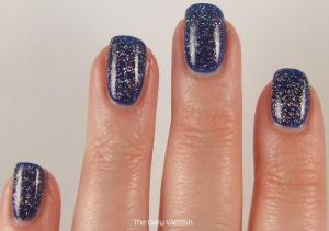 PISTOL polish Run The World and Revlon Royal 3