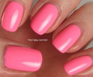 Pixi Polish Fluoro Flamingo 2