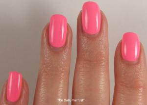 Pixi Polish Fluoro Flamingo 3