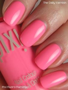 Pixi Polish Fluoro Flamingo