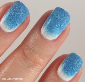 Textured Gradient Nail Art MACRO