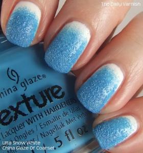Textured Gradient Nail Art