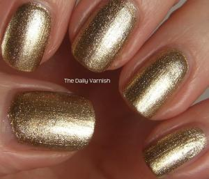 wet n wild Fergie nail color Grammy Gold 2