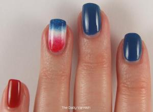 Firecracker Popsicle accent nail 3