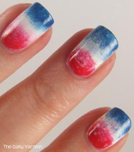 Firecracker Popsicle Nails MACRO