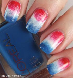 Firecracker Popsicle Nails