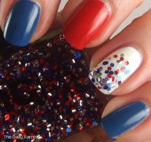 Fourth of July Manicure NCLA
