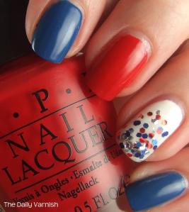 Fourth of July Manicure OPI