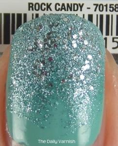 JulieG Rock Candy and wet n wild megalast I Need a Refresh-Mint MACRO 2