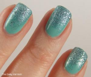 JulieG Rock Candy and wet n wild megalast I Need a Refresh-Mint MACRO