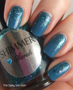 OPI Suzi Says Feng Shui and Shimmer Polish Sarah 2