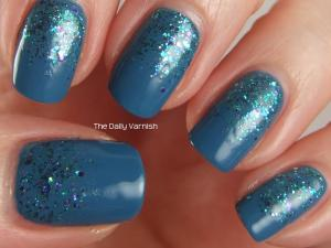 OPI Suzi Says Feng Shui and Shimmer Polish Sarah 3