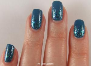 OPI Suzi Says Feng Shui and Shimmer Polish Sarah 4