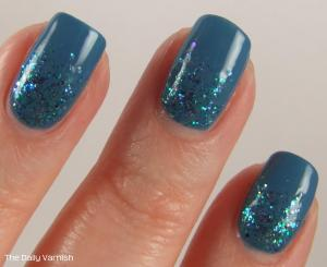 OPI Suzi Says Feng Shui and Shimmer Polish Sarah MACRO