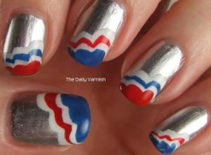 Patriotic Scalloped Tips 2