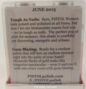 PISTOL polish June 2013