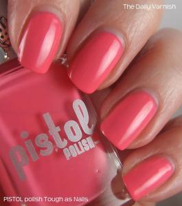 PISTOL polish Tough as Nails