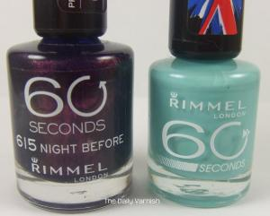 Rimmel old bottle vs new bottle