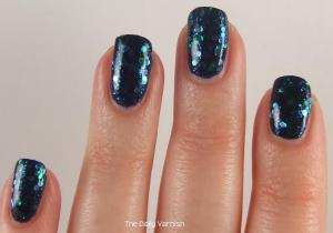 Sally Hansen Mermaid's Tale over butter LONDON Royal Navy 3