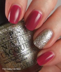 wet n wild Fashionista Lisa and OPI Spark de Triomphe 2