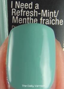 wet n wild megalast I Need a Refresh-Mint MACRO 2