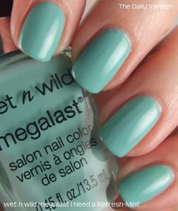 wet n wild megalast I Need a Refresh-Mint
